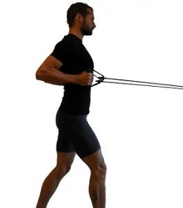 allenamento in casa con elastici